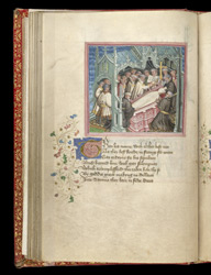 The Burial Of King Offa, In John Lydgate's 'The Lives Of Sts. Edmund And Fremund'